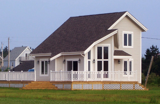New home builder pei cottage builder pei renovations for Pei home builders